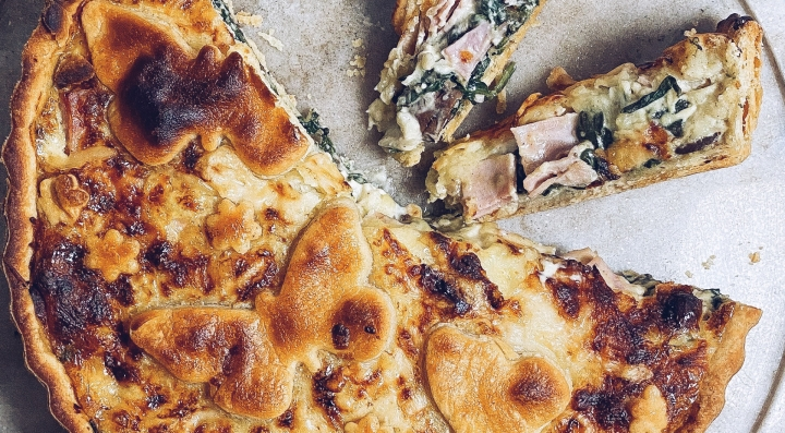 The Mrs. Sucrée Ultimate SpinachQuiche